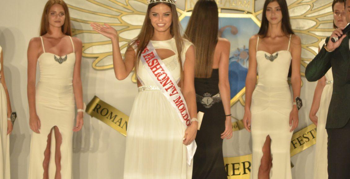 Frumoasa moldoveancă Victoria Cordoneanu este Miss Fashiontv Moldova 2017!