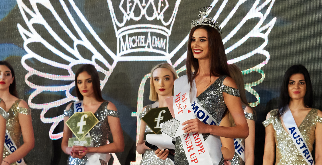 Reprezentanta Fashiontv Moldova, Doina Armaș, a câștigat premiul de First Runner Up la Miss Europe!