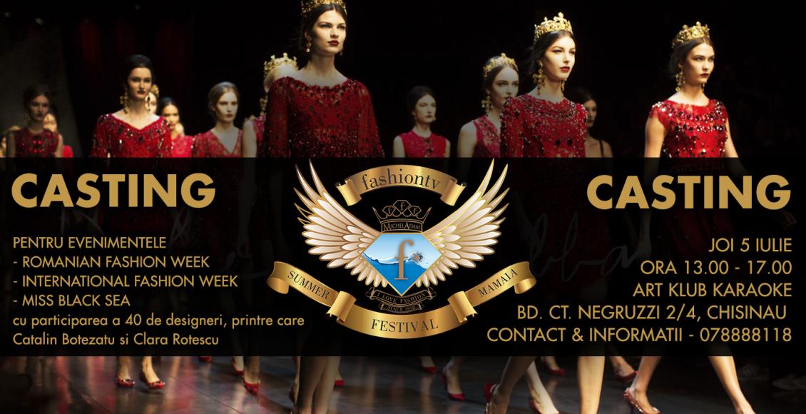 Casting Fashiontv Moldova