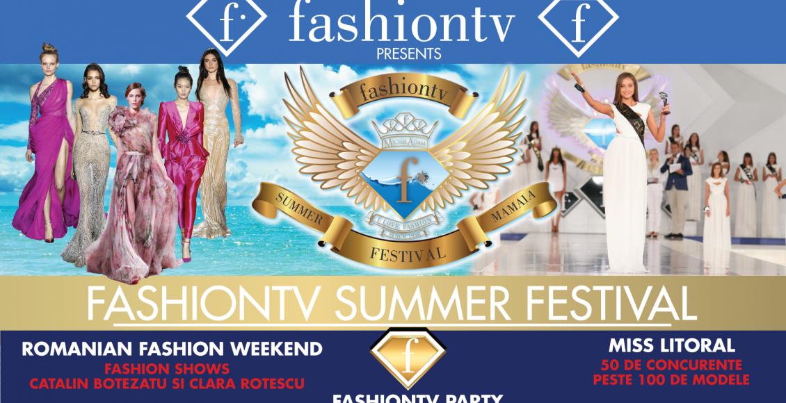 Cele mai frumoase modele din Republica Moldova se află în weekendul acesta la Fashiontv Summer Festival!