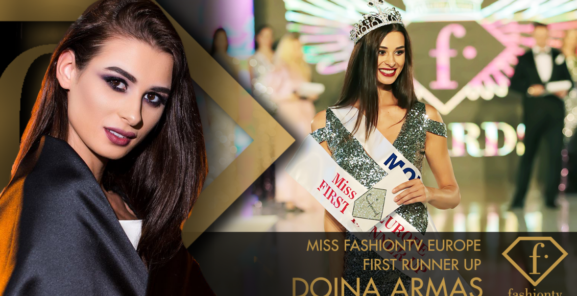 Doina Armaș – Miss Fashiontv Europe First Runner Up