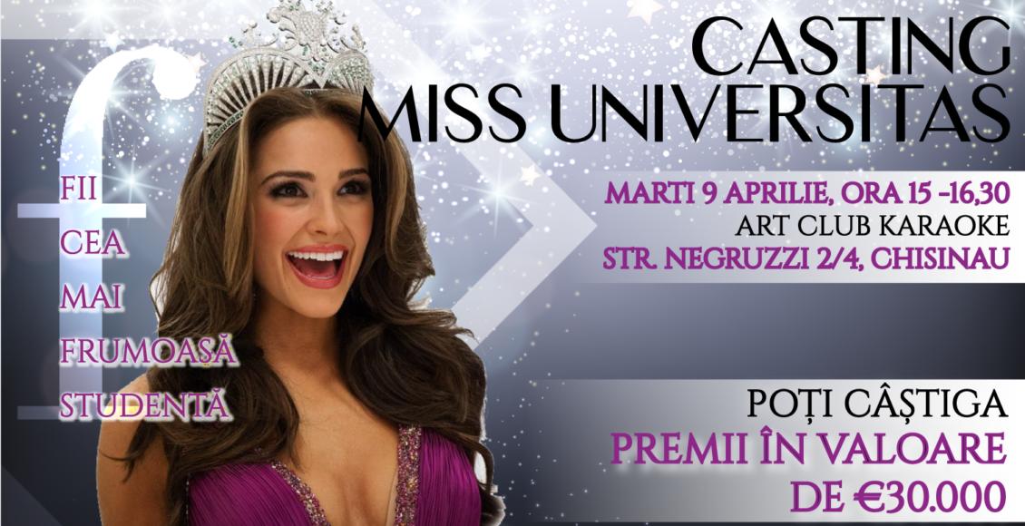 Casting pentru concursul de frumusețe Miss Universitas 2019