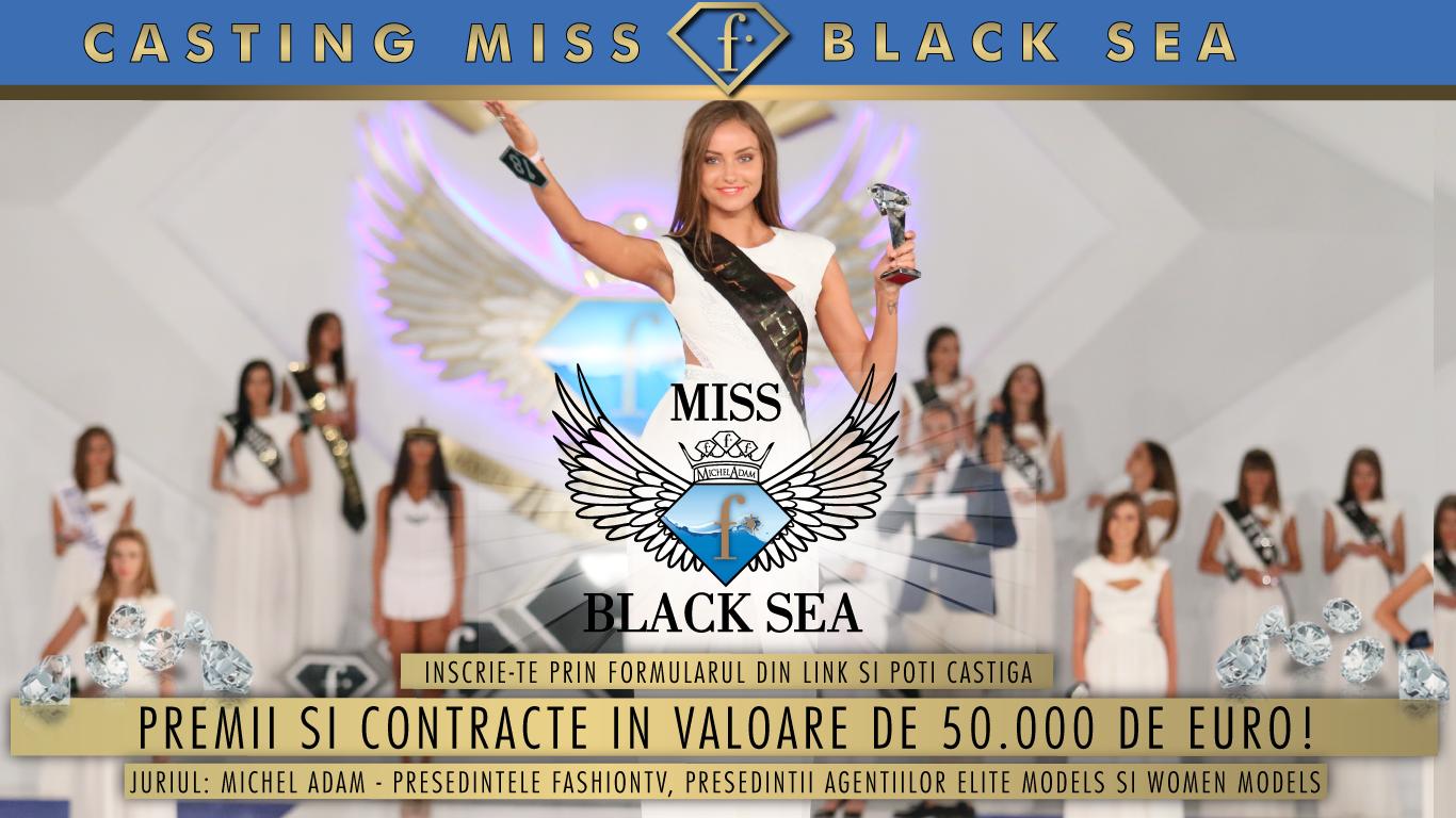 Casting Miss Fashiontv Black Sea: premii si contracte in valoare de 50.000 de euro!